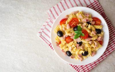 Ricetta pasta, tonno e pomodorini